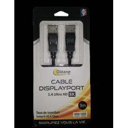 CÂBLE USB 2.0 B MINI MÂLE/A MÂLE 1.50M