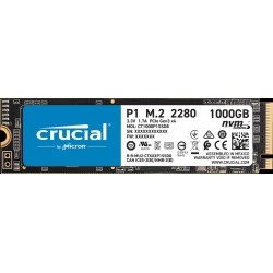 SSD Crucial P1 1000 Go 3D NAND M.2 NVMe PCIe