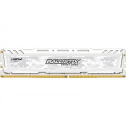 Ballistix Sport White 8GB DDR4 2666 MHz (PC4-21300) CL16 SR x8 Unbuffered DIMM 288pin